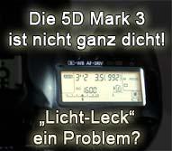 Lichtleck EOS 5D Mark III