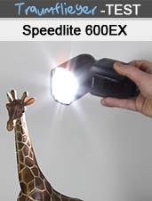 Speedlite 600EX-RT im Test