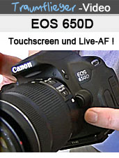 eos 650D im Traumflieger-Video