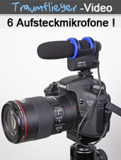 Video - Test von 6 Mikrofonen f�r DSLR