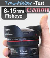 Canon 8 - 15mm Fischauge