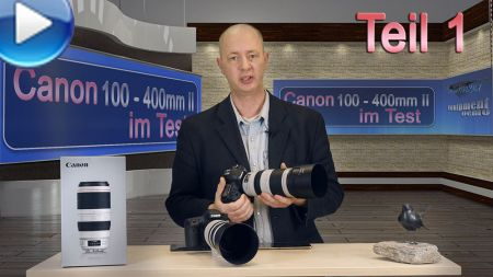 Video: Canon EF 100 - 400mm Mark II im Test (Teil 1)