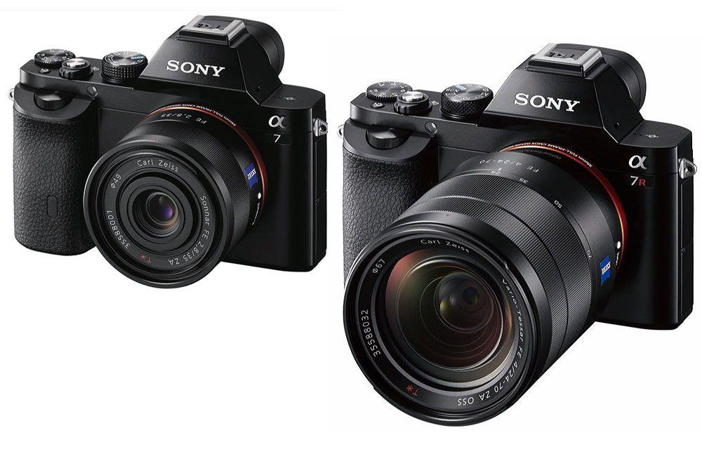 Spiegellose Vollformat-Modelle von Sony A7 / A7R ab Nov. 2013 ...