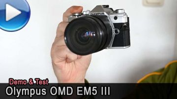 Olympus OMD EM5 Mark 3 im Test - Video!