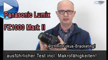 Panasonic Lumix FZ1000 II im Test incl. Makro