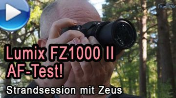 Panasonic Lumix FZ1000 Mark 2 - AF-Test am Strand
