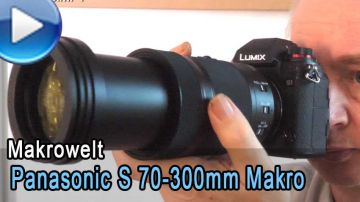 Panasonic Lumix S 70-300mm 4,5 - 5,6 Makro OIS im Test
