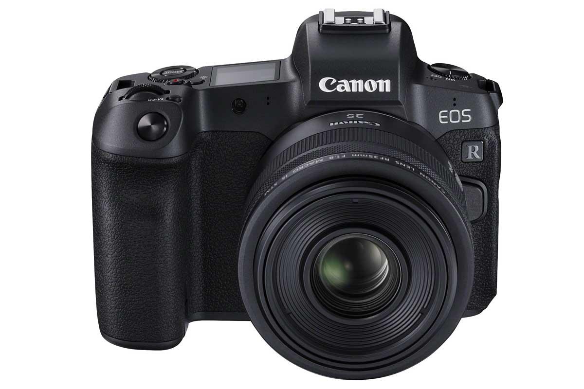 neues spiegelloses Vollformat: Canon EOS R ab Oktober 2018 ...