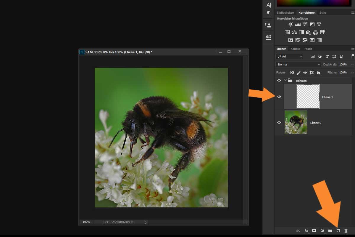 Rahmen mit Photoshop erstellen - aber richtig! - Traumflieger.de