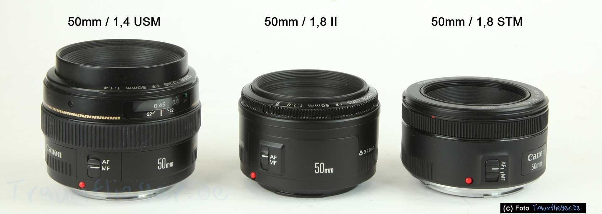Canon 50mm / 1,8 STM im Test - Traumflieger.de