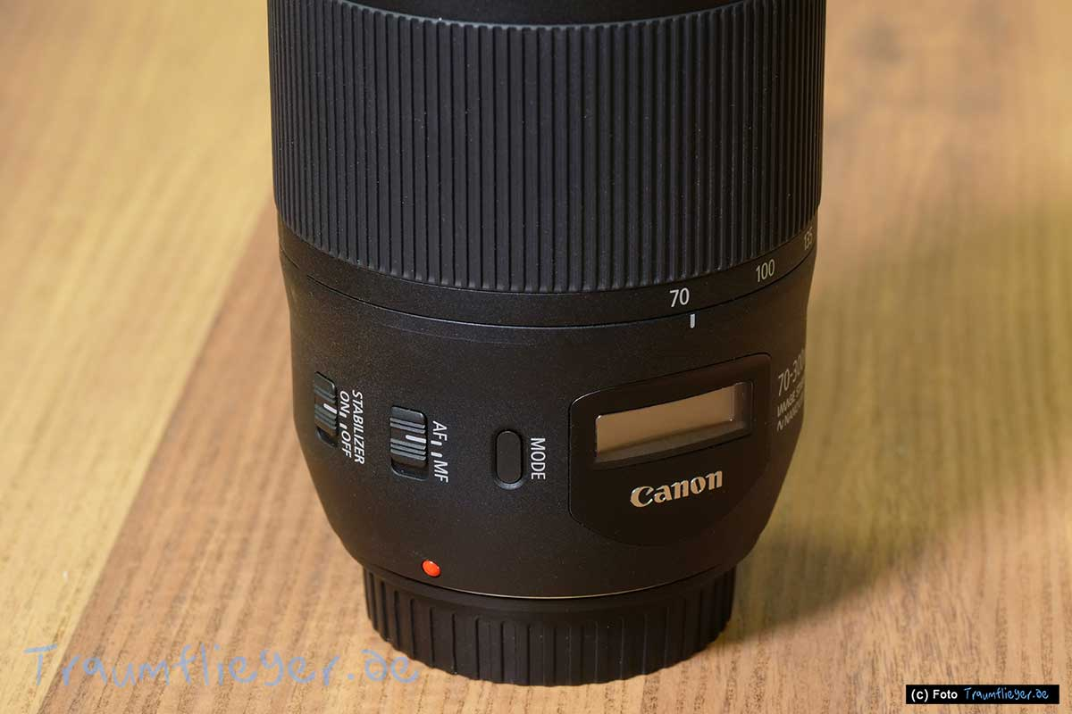 Canon Ef 70 300mm4 56 Is Usm Ii Im Test Video Traumfliegerde