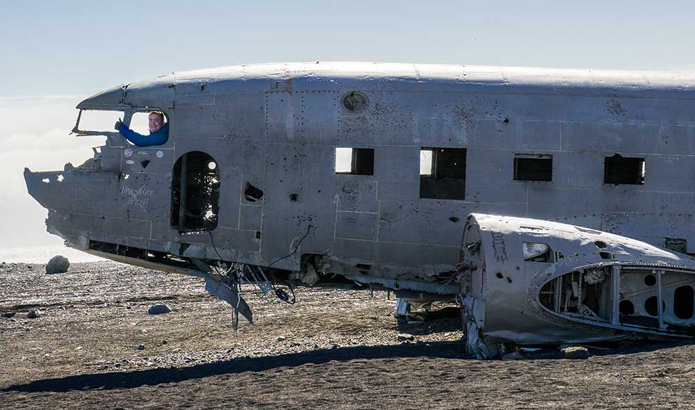 Karte Island Flugzeugwrack.Fotografieren Auf Island Abgesturztes Flugzeug Dc 3 Plane