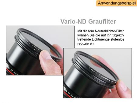 Variable Neutral Density Filter 82 mm