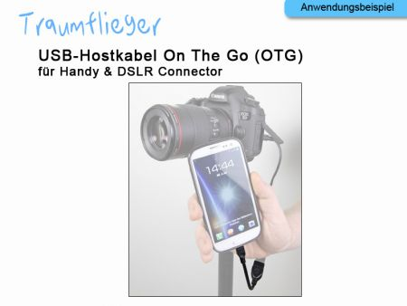 USB-Hostcable 10 cm for Samsung Galaxy/Note