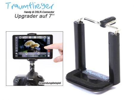 Upgrader auf 7''-Tablets (für Handy & DSLR Connector)