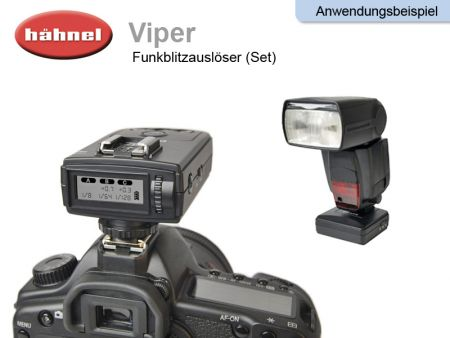 Wireless Flash Trigger Haehnel Viper, Set