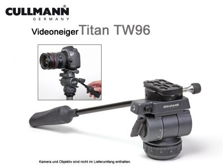 Cullmann 2-way head Titan TW96 with arcacompatible quick release system