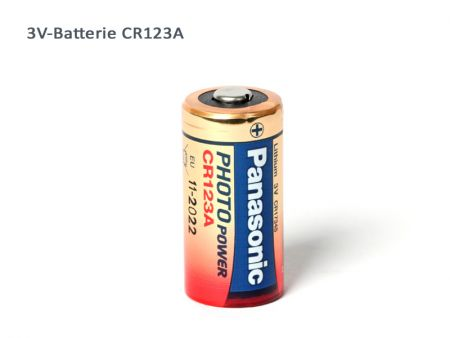 Batterie Panasonic CR123A