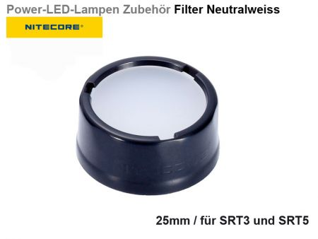 Nitecore Filter, neutralwhite, 25 mm