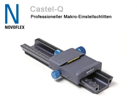 Novoflex Focussing Rail Castel-Q