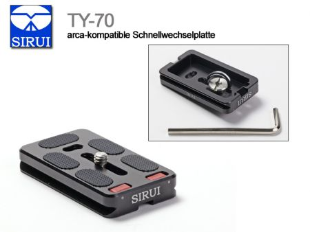 Sirui TY-70 Quick Release Plate