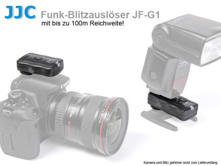 JJC JF-G1 Wireless Flash Trigger And Remote Control