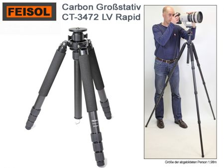 Feisol Elite Tripod CT-3472LV Rapid