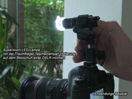 Traumflieger Flashlight Mount Pro 1