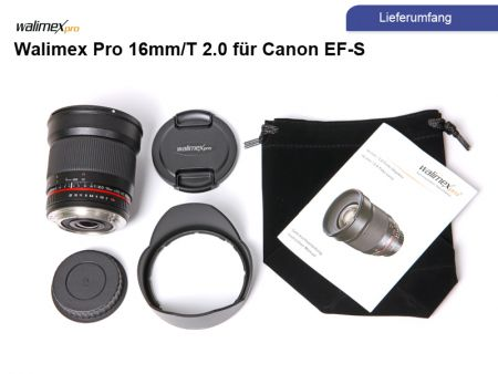 Walimex Pro 16mm/2,0 for Canon APS-C, manual