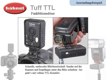 Haehnel Tuff TTL Flash Trigger for Nikon