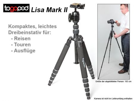 Togopod Traveling Tripod Lisa Mark II