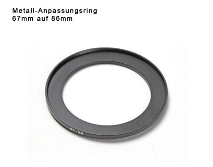 Step Up Ring 67mm to 86mm