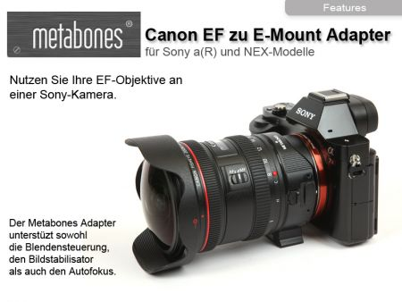 Metabones Canon EF/Sony NEX Smart Adapter T-Version (Mark IV)