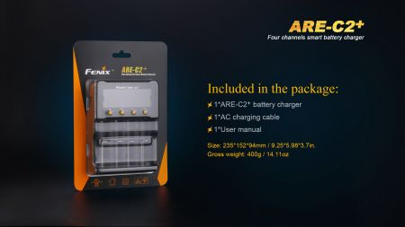 Fenix ARE-C2+ Smart Charger