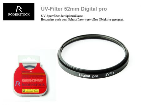 Rodenstock UV-Filter 52mm Digital pro