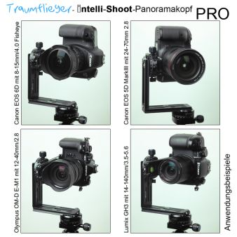 Traumflieger Intelli-Shoot Panorama-Head Pro