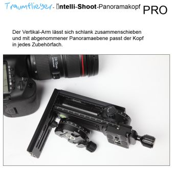 Traumflieger Intelli-Shoot Panoramakopf PRO