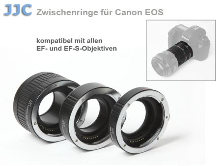 JJC Auto-Extension Tube for Canon