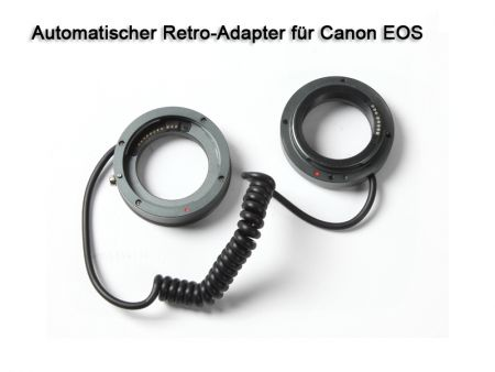 Automatic Reverse Adapter for Canon EOS