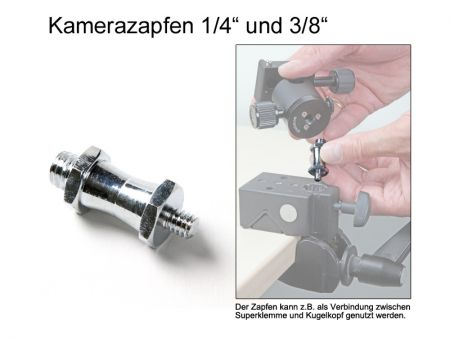 Camera Pin with 1/4