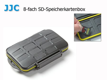 JJC SD-Memory Card Box, 8 cases