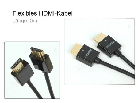 Flexible HDMI-Cable MK77, Length 3m