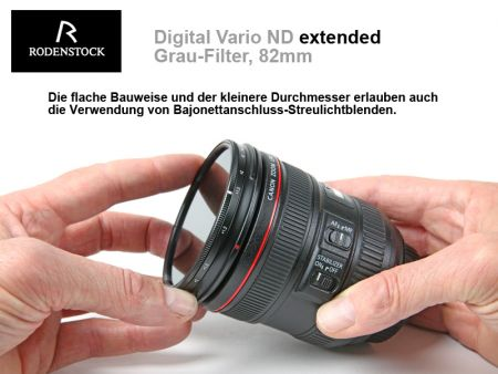 Rodenstock Digital Vario ND Filter Extended, E82