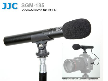 JJC Mini Shotgun Microphone SGM-185