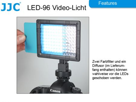 JJC Video Leuchte LED-96