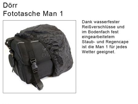 Dörr Camera Bag Man 1, black
