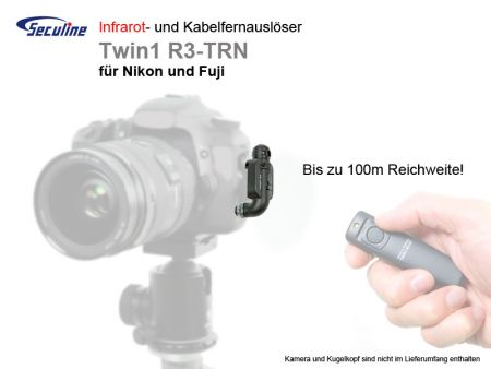 Infrared Remote Control TWIN1 R3-TRN for Nikon/Fuji