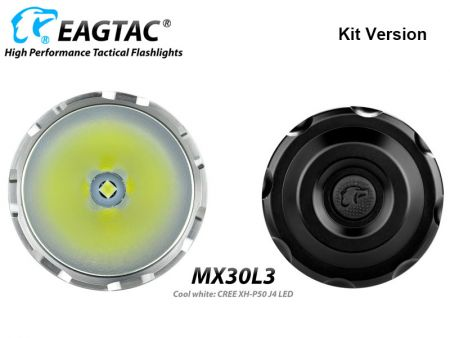 EagTac MX30L3 XH-P50 J4, Kit-Version