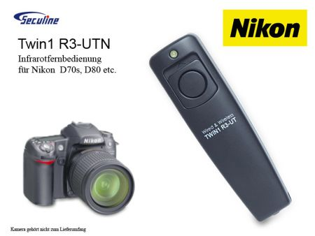 Infrared and Remote Shutter for NIKON D70s/D80