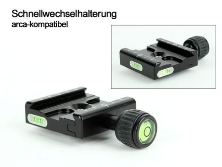 Quick Release System, arca-swiss compatible